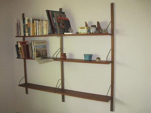 Cado Cadovious,Teak floating wall book shelf