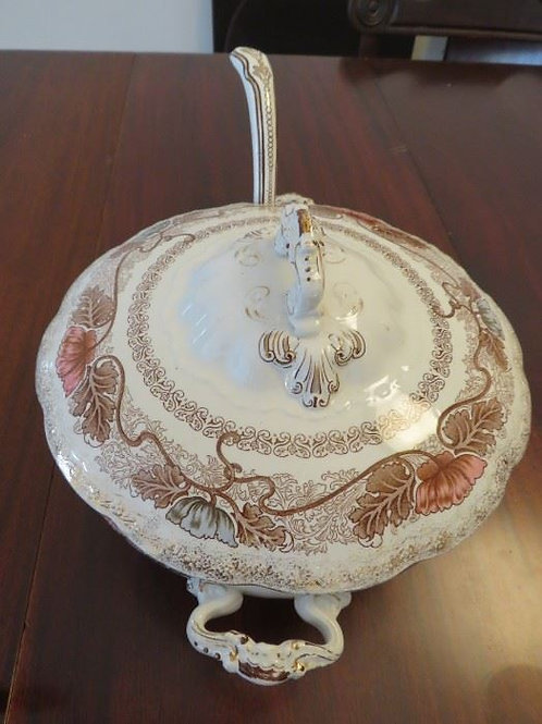 Antique Porcelain soup tureen