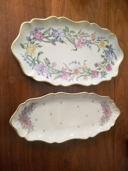 """To floral Lennox dishes 9 """""""