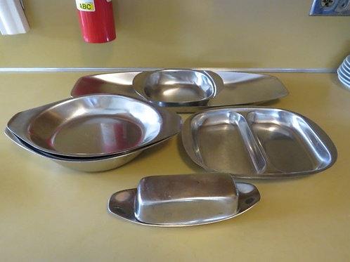 MCM Stainless Steel Serving Set
