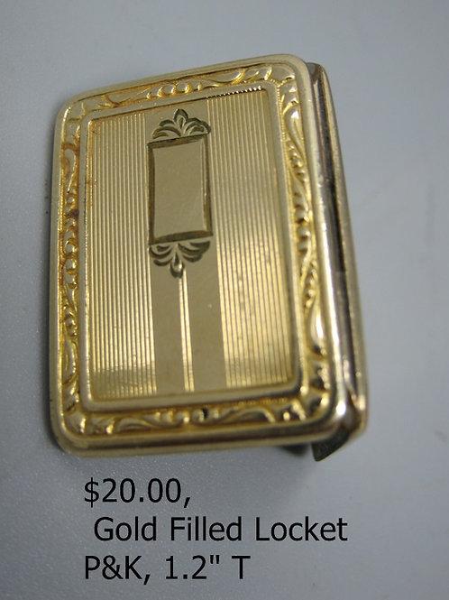 Gold filled locket