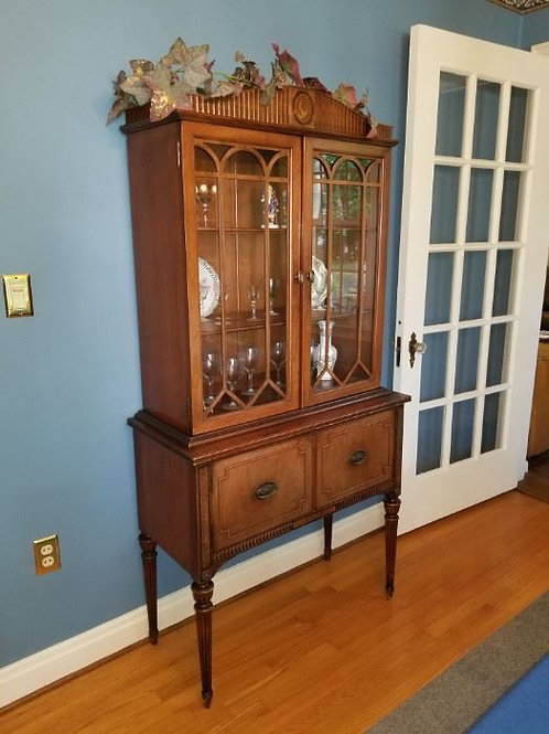 Antique China Cabinet VG condition