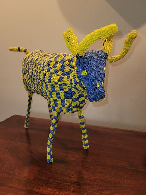 """Wire and Bead Antelope - 12 X 15"""""""