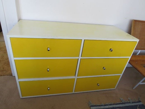 George Nelson for Herman Miller 6 Draw Chest