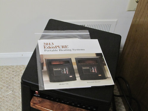 2013 Eden PURE Portable Heater excellent condition