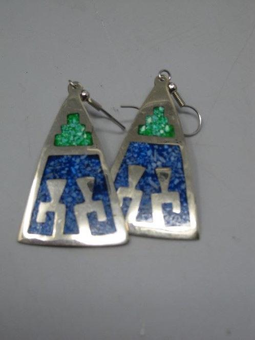 "Alpaca Mexico Sterling Earrings 2"""