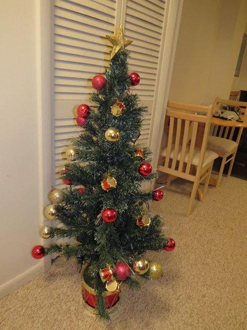 Vintage prelist drum christmas tree
