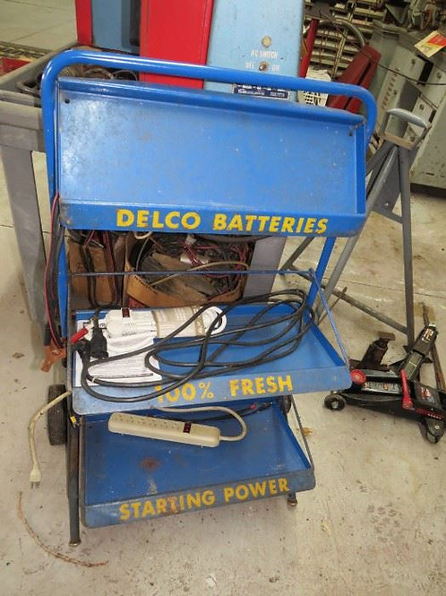 1st Building, Advertising Delco Display work case
