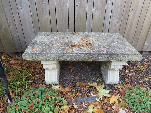 "3 x 20"" bench cement"