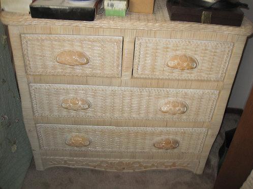 Wicker Dresser excellent condition