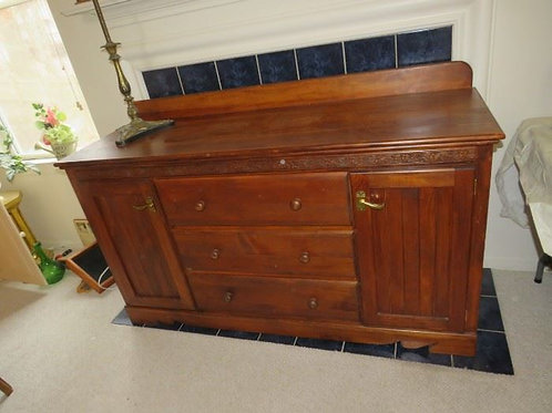 Cherry sideboard credenza Vg condition