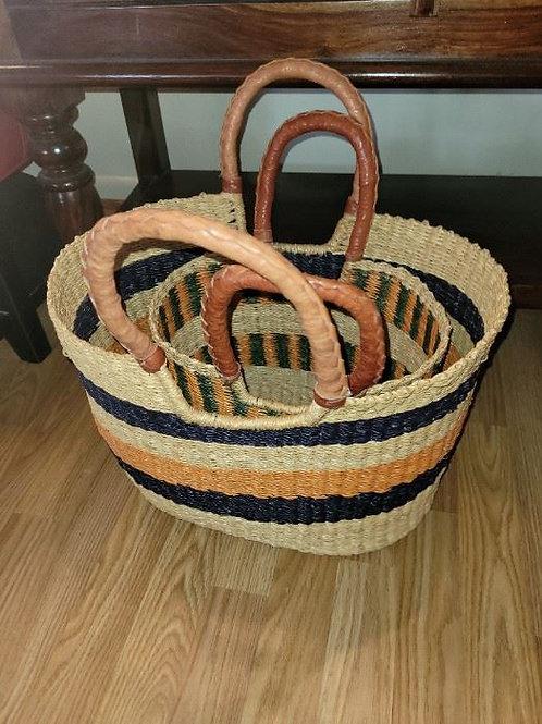 "African Nesting Baskets - 20"""