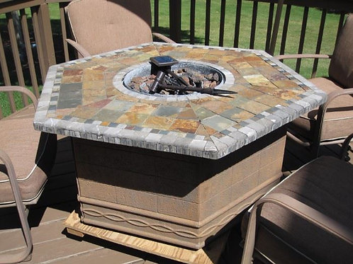 "Fire pit, 4' x 24"" tall, VG condition"