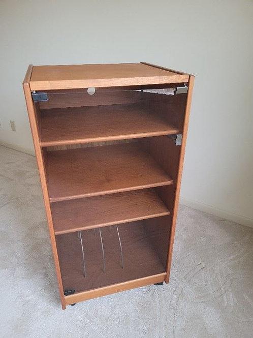 Teak Electronic Cabinet