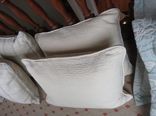 Cream & Butter Yellow Down Pillows w/ Zipper ($16 Each)
