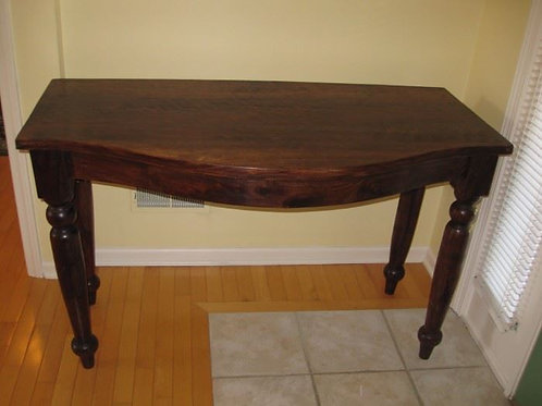 "Solid Cherry?? entry table 48""W x 23""D x 30""T Excellent condition"