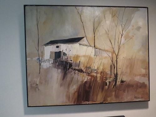 Original Oil on Board - Neil Davison