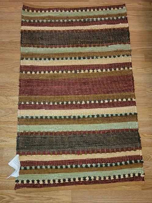 Cotton Woven Rug- 4'