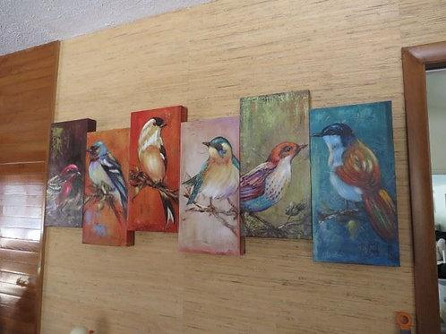 Bird Art 5' wide