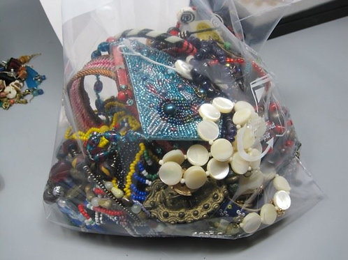 2 Bags of Jewelry & Beads