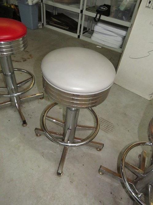 1st Building, Gray Chrome stool