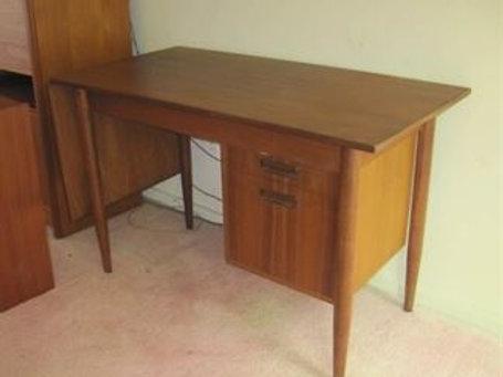 Made in Denmark Arne Vodder Drop leaf desk VG cnd. 1 small pc. of veneer missing