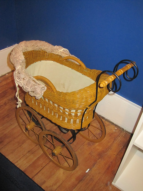 Doll buggy antique