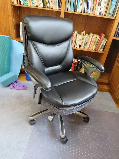 Office chair leather VG condition