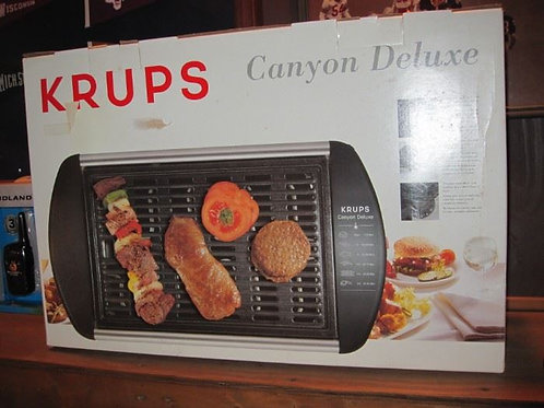 Krups Canyon Deluxe grill NEW