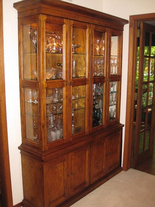 "Henredon China Cabinet 54"" W x 81"" Tall"