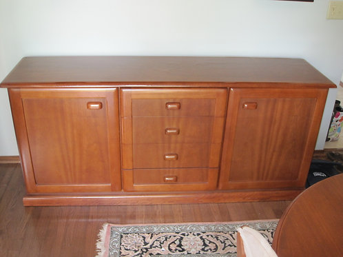 Purchased in Australia Cherry wood buffet
