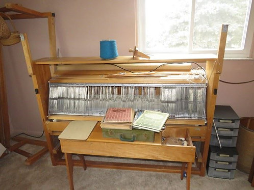 """Nilus Leclerc 60"""" Weaving Loom, Bench & all accessories"""