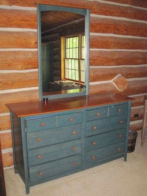 Nadeau Canada solid Maple Dresser & mirror