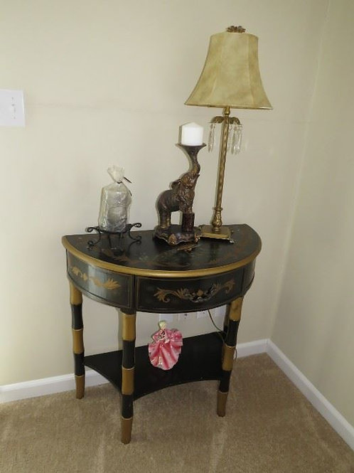 """Painted table 30"""" Tall by 31"""" wide VGC"""