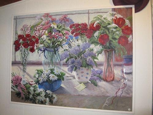 "5 vases by J. Coates, 50/35"""