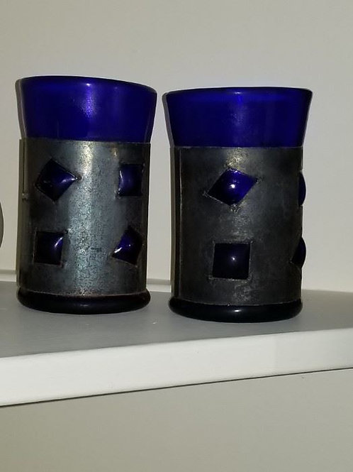 Pair of Vintage Mexican glasses