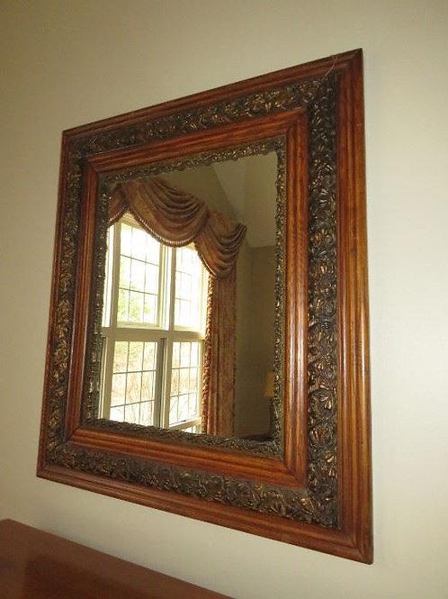 "Antique Mirror - 27"" X 30"""
