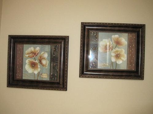 Pair Flower prints
