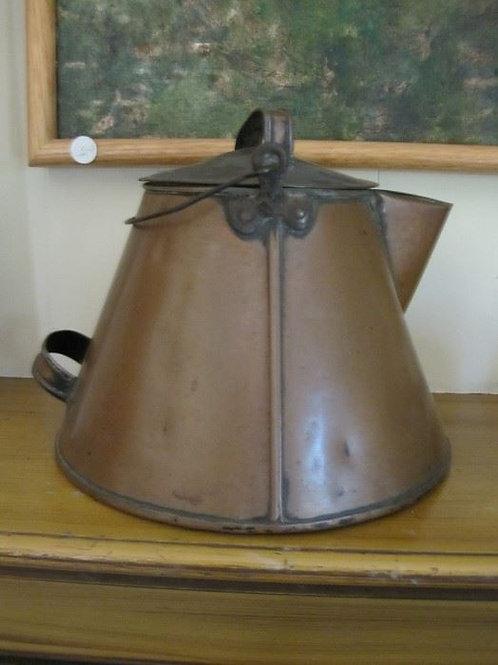 """Copper kettle 12"""" T"""