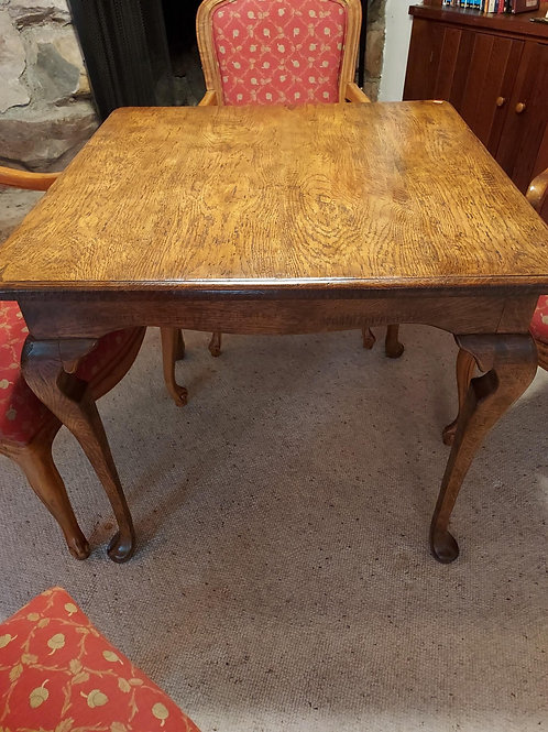 Game Table & 4 Chairs