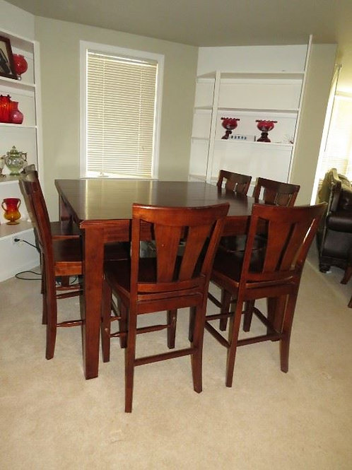 High boy table & chairs VG condition