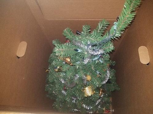 4' lighted Christmas tree