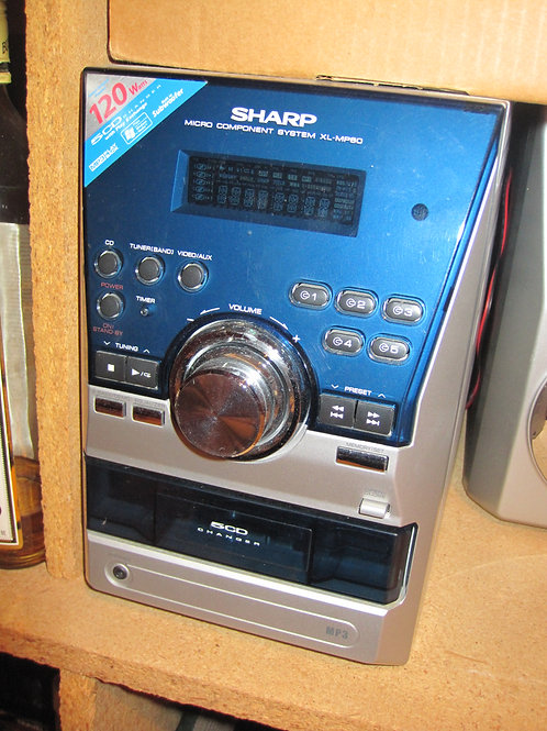 Sharp Stereo Console
