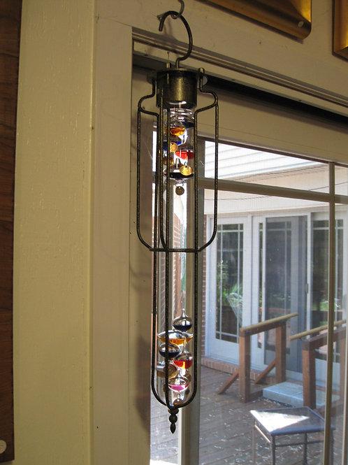 "Large 17"" hanging Galileo Thermometer"