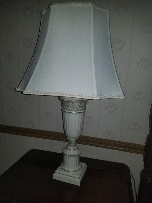 """Lenox 32"""" porcelain lamps VG condition"""