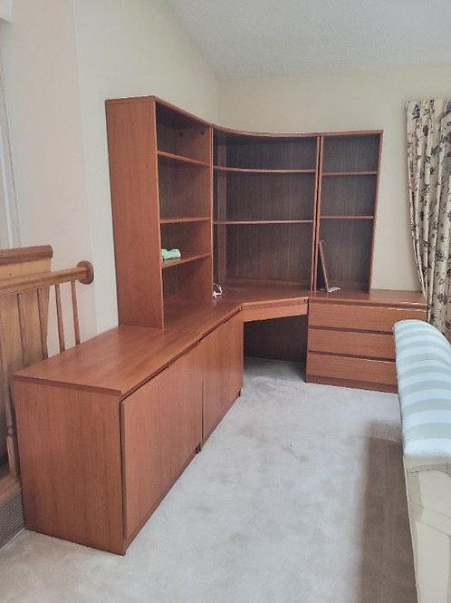 Danish Modern Desk Set