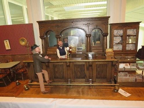 Replica of old Bar scene