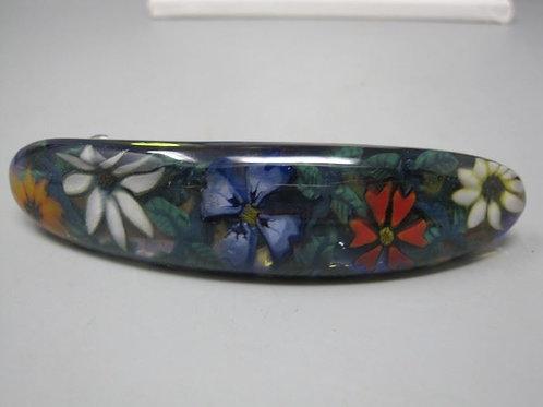 Made in France Art Glass Flower Barrett
