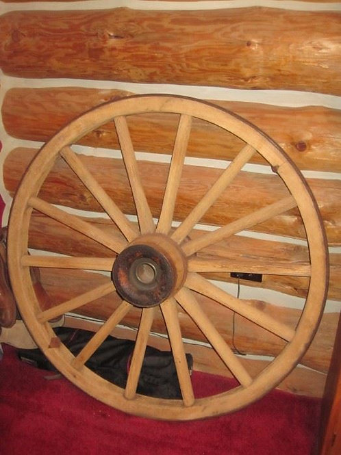 "real 43"" wagon wheel"
