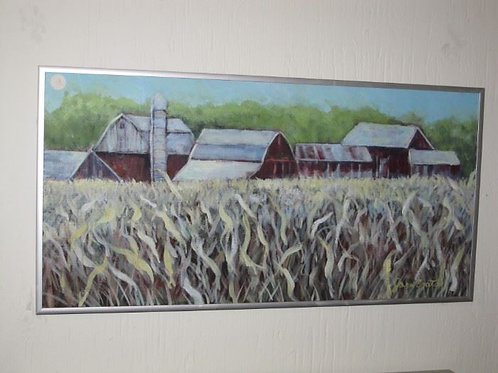 3 Barns by J Coates, 24/12""